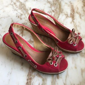 Nearly new Sperry Wedges